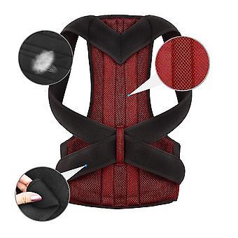Waist Trainer Back Posture Corrector Shoulder Lumbar Brace Spine Support Belt