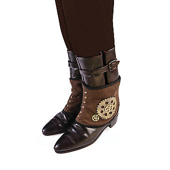Bristol Novelty Unisex Adults Steampunk Spats