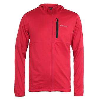 Columbia Tech Trail Hooded Sweatshirt - Red
