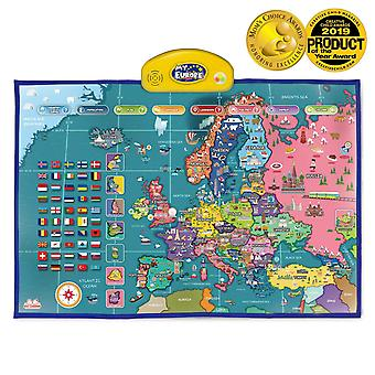 Best learning i-poster my europe interactive map - educational talking toy for boys and girls ages 5