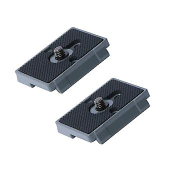 """Harwerrel quick release plate 1/4"""" screw fit for bogen 3157n manfrotto 200pl-14 323 rc2 3030 3130 ca"""