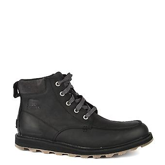 Sorel Madson Toe Moc Black Waterproof Boot