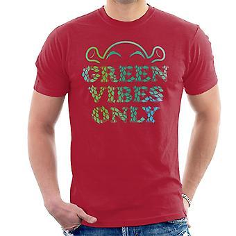 Shrek Green Vibes Kun Mænd's T-shirt