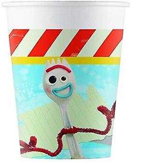 Party Cups Toy Story 266 Ml 8 Pieces Multicolor