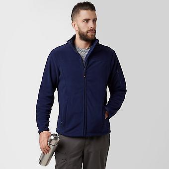 New Peter Storm Men's Warmth Full Zip Long Sleeve Carrick Fleece Navy