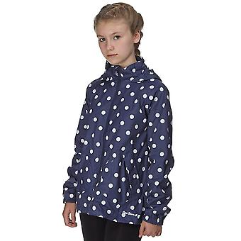 New Peter Storm Girl's Moonstone Waterproof Jacket Navy