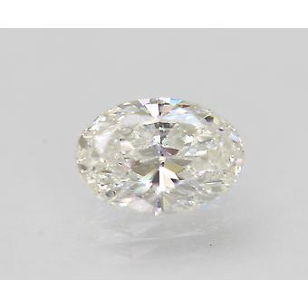 معتمد 1.01 قيراط G VVS2 البيضاوي المحسن الطبيعية فضفاضة الماس 7.77x5.43mm