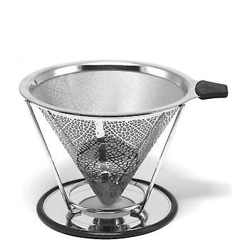 Kúp tölcsér csepegtető kávékészítő eszközök