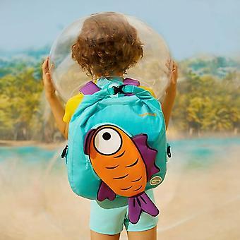 TOSWIM Sac de séparation sec et humide Sac de rangement portable Enfants Sac imperméable à l'eau Voyage Camping