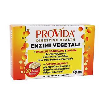Provida Vegetable Enzymes 30 vegetable capsules of 500mg