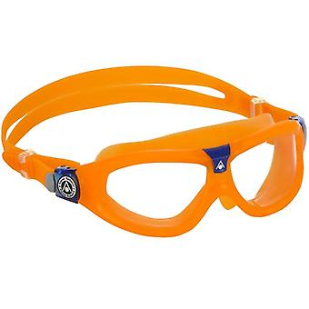 Aqua Sphere Seal Kid 2 Svømning Goggle - Klare linser - Orange