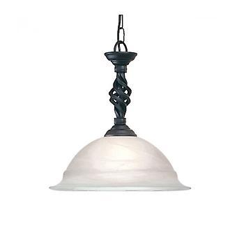 Lámpara Colgante Pembroke, Negra