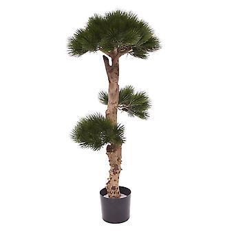 Pinheiro Artificial Bonsai árvore UV 110 cm