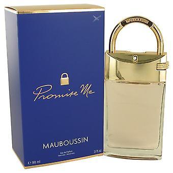 Mauboussin Promise Me Eau De Parfum Spray By Mauboussin 3 oz Eau De Parfum Spray