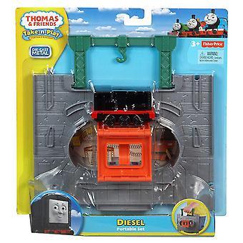 Thomas & friends take-n-play, dieselmotor startset