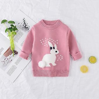 Rabbit Pattern, Pullover Knitwear Sweater For Baby &