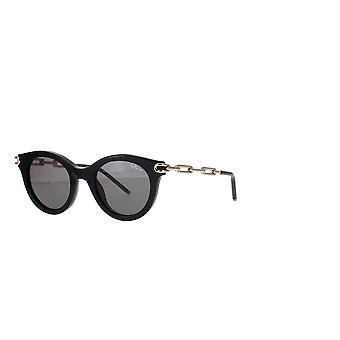 Mulberry SML092 0BLK Black/Grey-Green Sunglasses