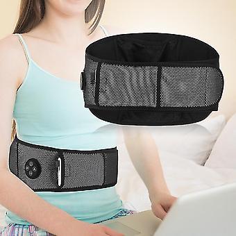 Elektrický ohrievací pás masážny prístroj tlak vzduchu vysokofrekvenčné vibrácie pás pás nižšia chrbtová podpera ortéza telo úľavu od bolesti