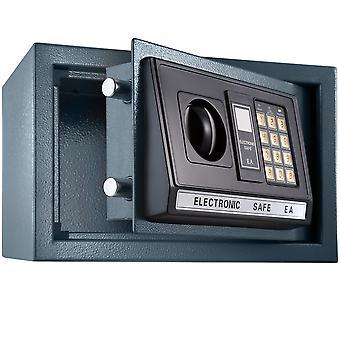 tectake Elektroniskt kassaskåp + nyckel modell 1