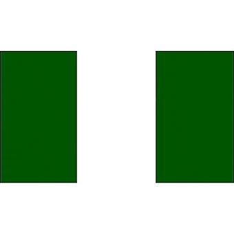 Nigeria lippu (5ft X 3ft)