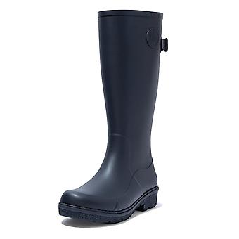 FitFlop Fitflop Wonderwelly™ Tall Rubber Boots In Midnight Navy