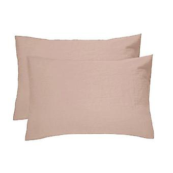 Bambury 2 Piece French Flax Linen Pillowcases