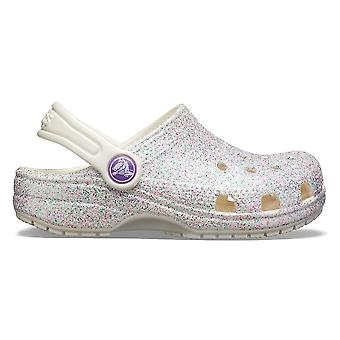 Crocs Classic Glitter Clog 205441159 universelle hele året spedbarn sko