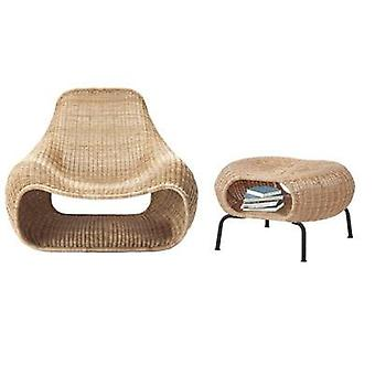Creative Outdoor Indoor Rattan Chair Furniture Nordic Simple Southeast Asia