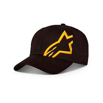Alpinestars Corp Snap Cap in Black/Gold