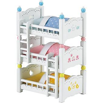 Sylvanian Families  4448 Triple Bunk Beds
