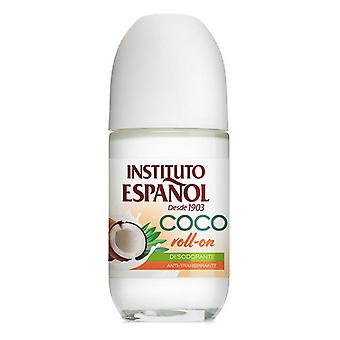 Roll-On Deodorant Coco Instituto Español (75 ml)