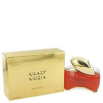 Krazy Krizia By Krizia Eau De Toilette 3.4 Oz (women) V728-417929