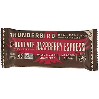 Thunderbird Energetica Bar Choc Raspbry إسبرسو، حالة 15 X 1.7 Oz