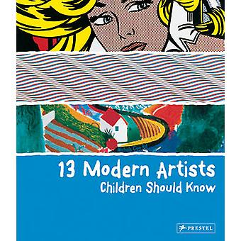 13 Modern Artists Children Should Know by Finger & Brad