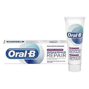 Toothpaste Enc��as & Esmalte Repair Advanced Oral-B (75 ml)