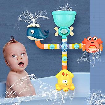 Baby Bath Toys Water Game Giraffe Crab Model Faucet Shower Water Spray Toy For Kids Toy