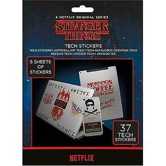 Stranger Things The Upside Down Stickers Set (Pack de 37)