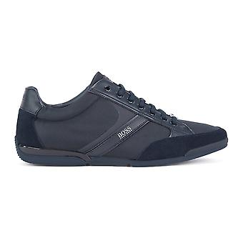 Hugo Boss Footwear Hugo Boss Saturn Lowp Mx Dark Blue Trainers