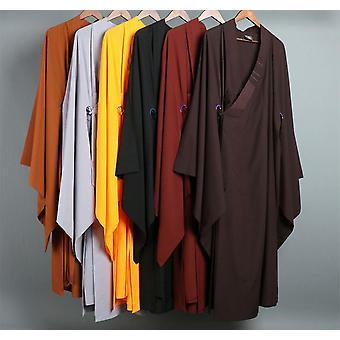 Shaolin Monk Kung Fu Suits Zenmeditation Vêtements Uniformes