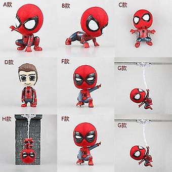 Video game consoles d spider man homecoming bobblehead mini pvc figures
