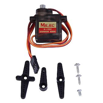 Mr.rc M-1502 9g Standard Servo Motor Metal Gear For Rc Helicopter Car Airplane