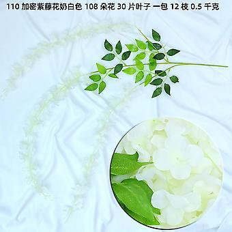 Artificial Flower Vine Arch Decoration Wisteria Flower String