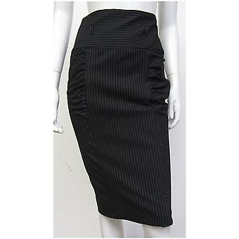 River Island Style Stripe Ruched Skirt SK081-18