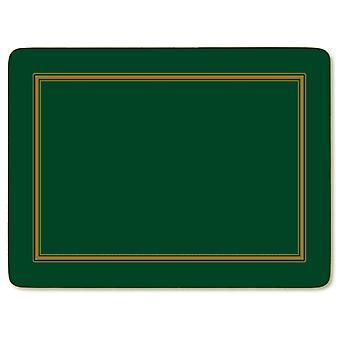 Pimpernel Classic Emerald Green Placemats Set of 6
