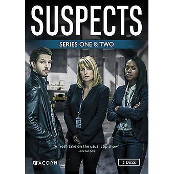 Epäillyt: Sarja 1 & 2 [DVD] USA tuonti