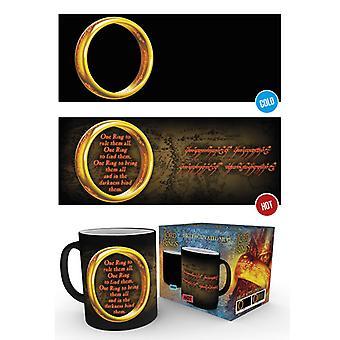 Seigneur de la chaleur d'anneau anneaux un changement Mug