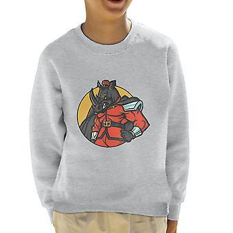 Rechtmatig kwaad M Bison Rhino Street Fighter Kid's Sweatshirt