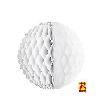 Favores de partido panal blanco globo 32 cm - retardante de llama