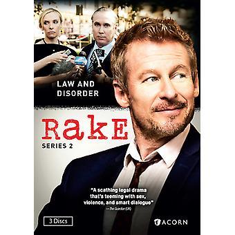 Rake: Sarja 2 [DVD] Yhdysvallat tuoda