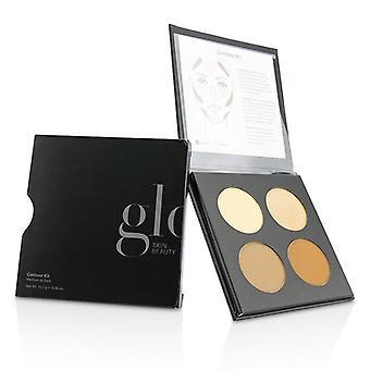 GLO ihon kauneus Contour Kit - # keskipitkän tumma - 13.2g/0.46oz
